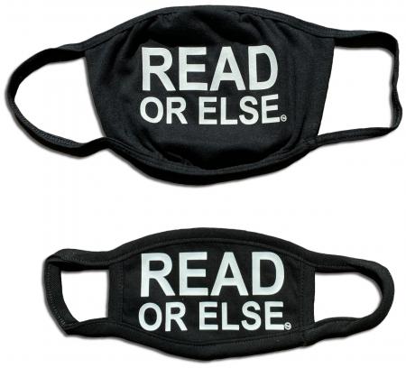 Read or Else Face Masks